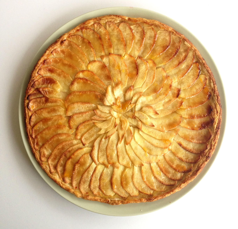The tarte fine aux pommes marinecornut - Dessin de tarte aux pommes ...